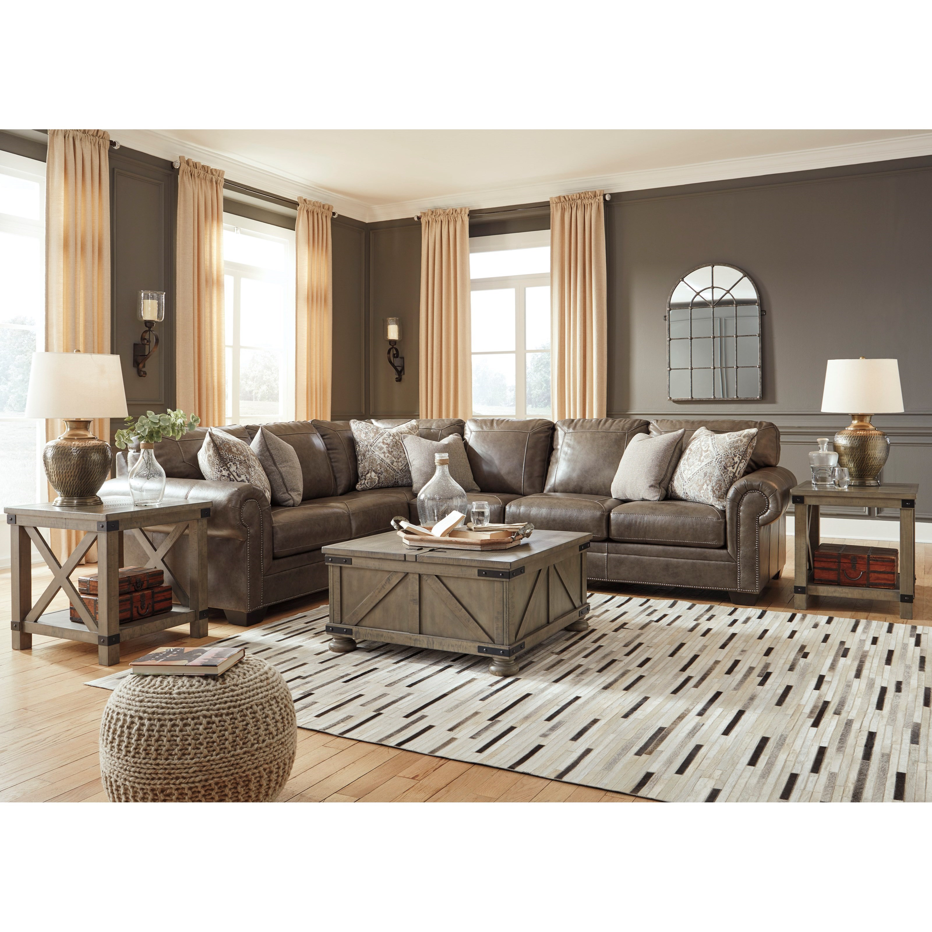 Signature Home Furnishings: Signature Design By Ashley Roleson Transitional 3-Piece