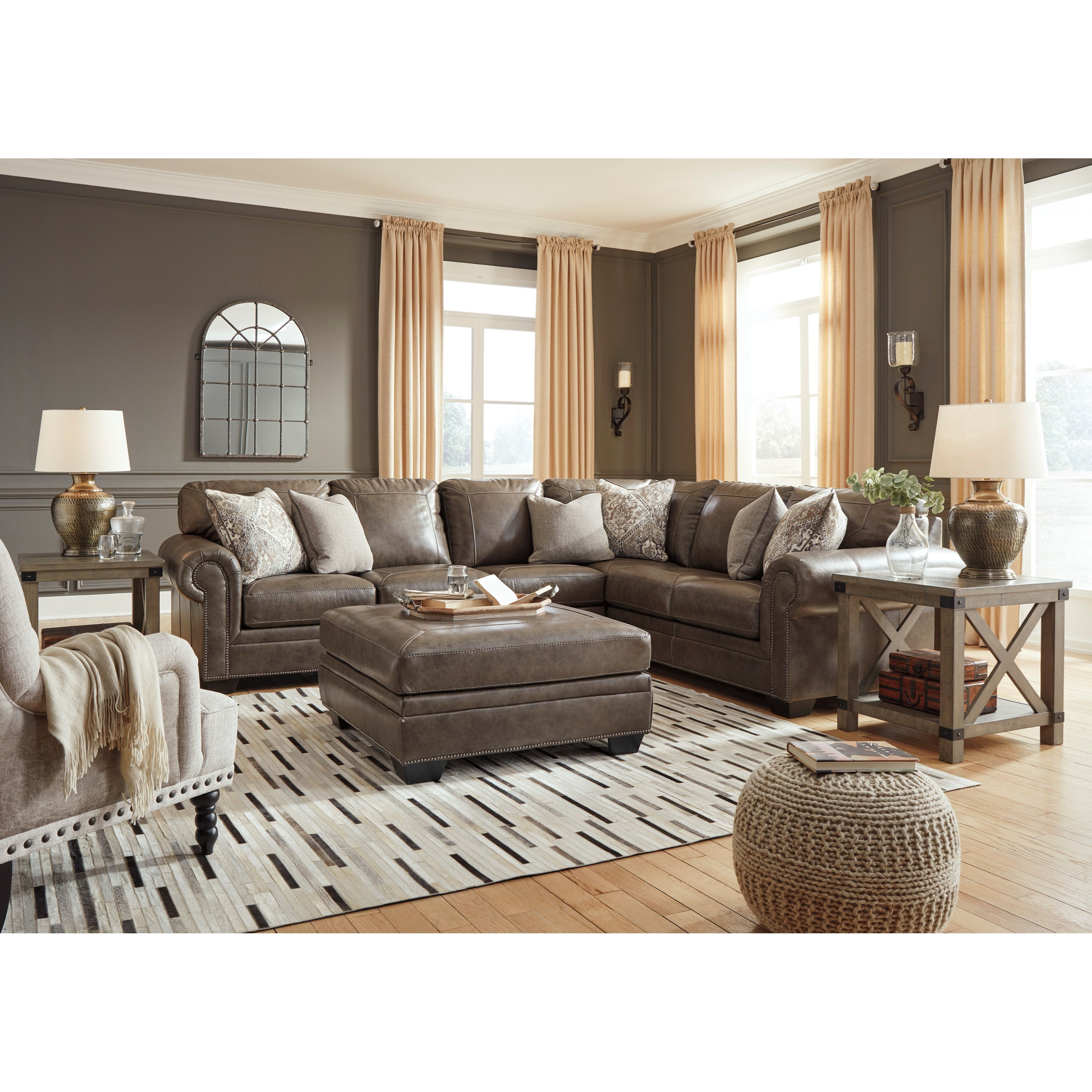 Signature Design By Ashley Roleson Transitional Three