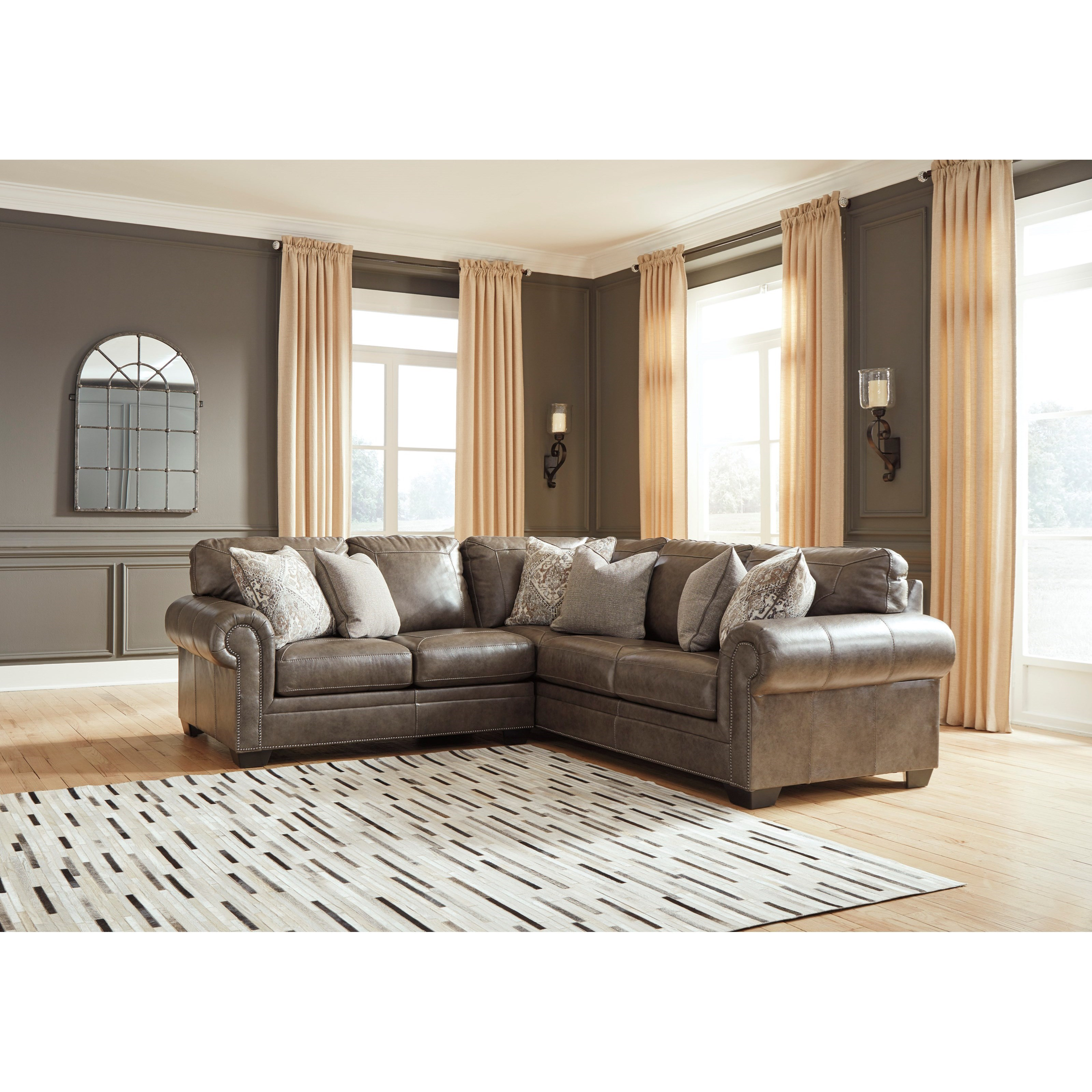 Signature Home Furnishings: Signature Design By Ashley Roleson Transitional Two Piece