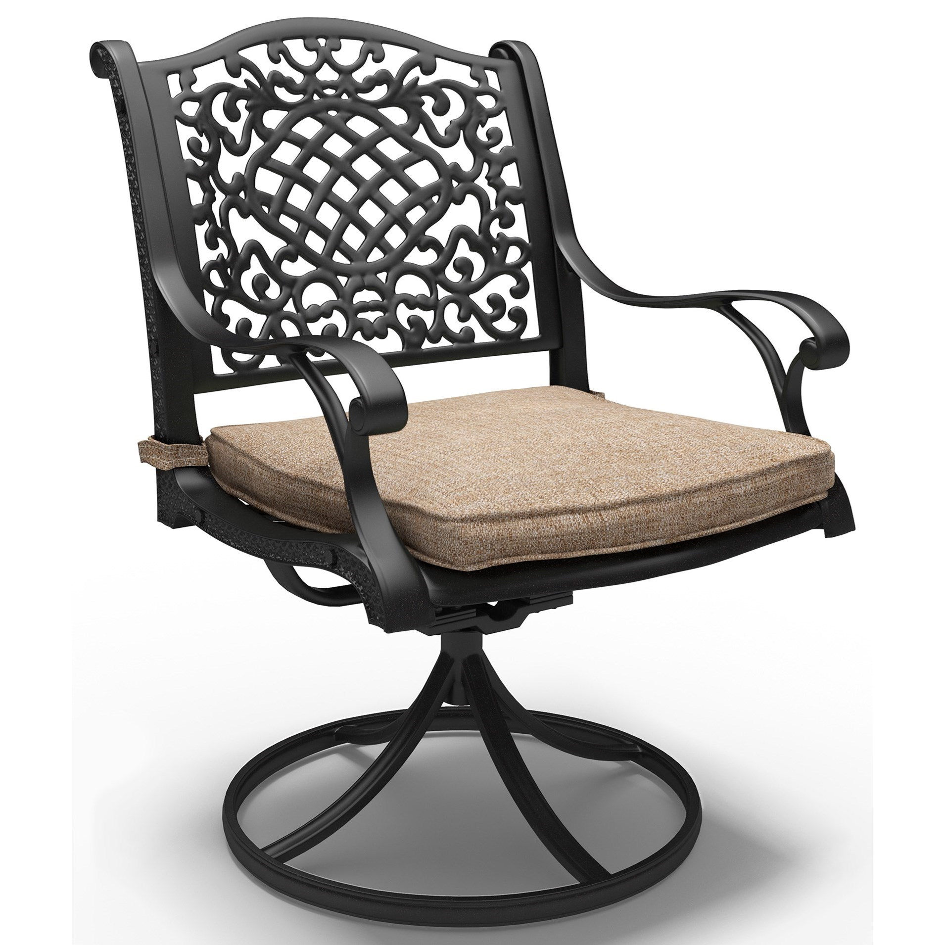 Signature Design by Ashley Rose View Set of 2 Swivel Chairs with Cushion - Item Number: P559-602A