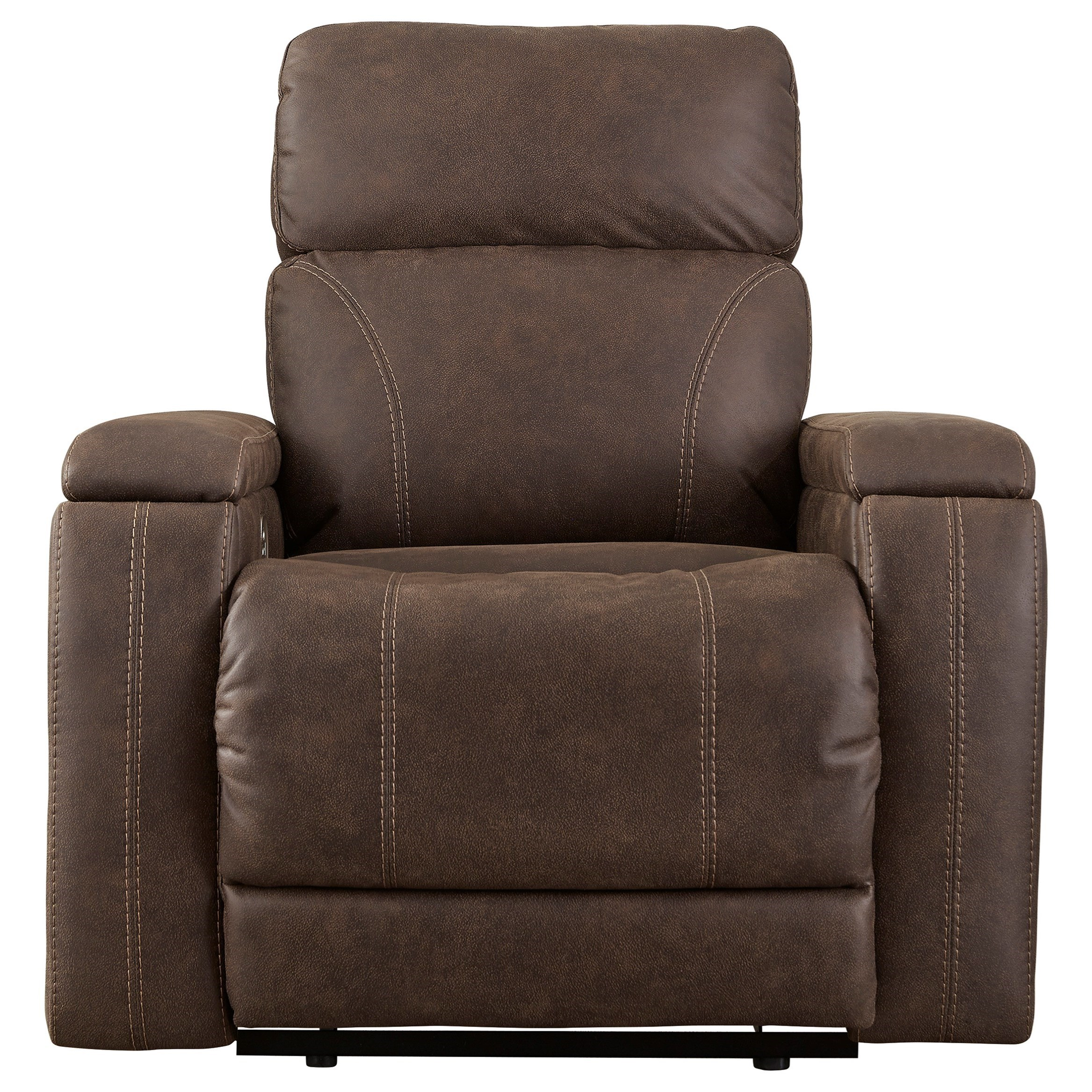 Rowlett Power Recliner with Adjustable Headrest by Signature Design by Ashley at Beck's Furniture
