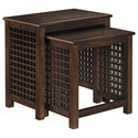 Signature Design by Ashley Roxenton Nesting End Tables - Item Number: T885-16