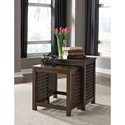 Signature Design by Ashley Roxenton Nesting End Tables with Grid Sides