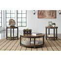 Signature Design by Ashley Roybeck Rustic Occasional Table Set