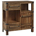 Signature Design by Ashley Roybeck Accent Cabinet - Item Number: T411-40