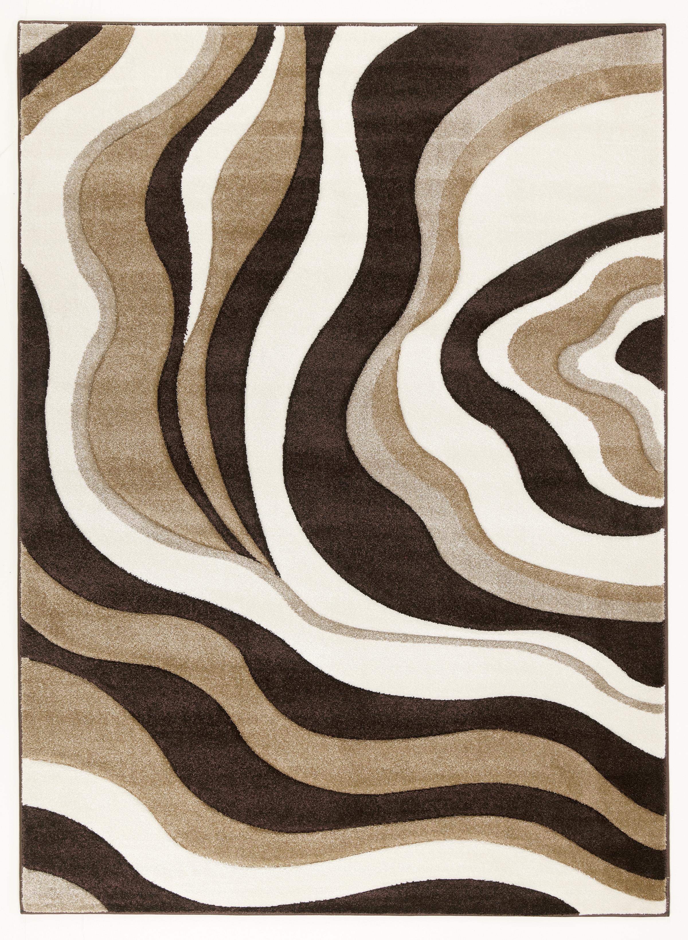 Signature Design by Ashley Furniture Contemporary Area Rugs Rivoletto - Brown  Medium Rug - Item Number: R230002
