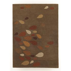 Signature Design by Ashley Furniture Contemporary Area Rugs Droplet - Taupe Medium Rug