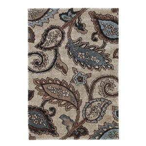 Signature Design by Ashley Furniture Contemporary Area Rugs Yvette - Steel Area Rug