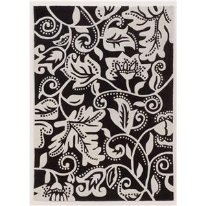 Signature Design by Ashley Contemporary Area Rugs Ashton - Black Rug