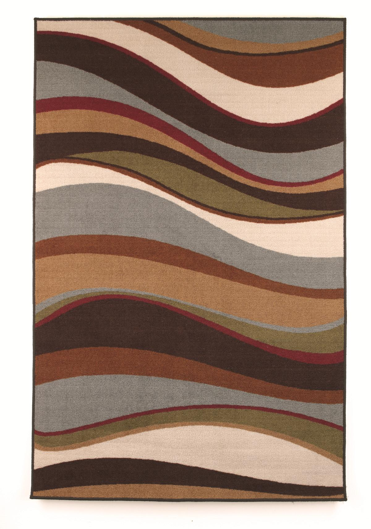 Signature Design by Ashley Contemporary Area Rugs Tidal - Multi Small Rug - Item Number: R333002