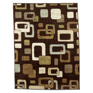 Signature Design by Ashley Furniture Contemporary Area Rugs Sandia - Chocolate Medium Rug
