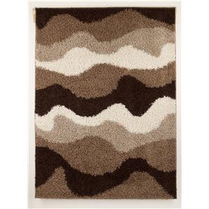 Signature Design by Ashley Contemporary Area Rugs Kipri - Java Medium Rug
