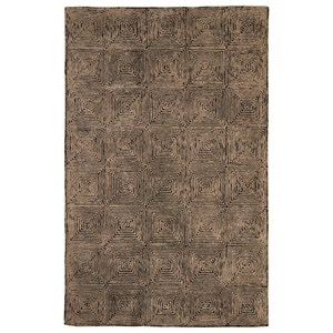 Signature Design by Ashley Contemporary Area Rugs Kanan Taupe/Black Medium Rug