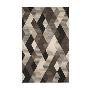 Signature Design by Ashley Furniture Contemporary Area Rugs Scoggins Black/White Medium Rug
