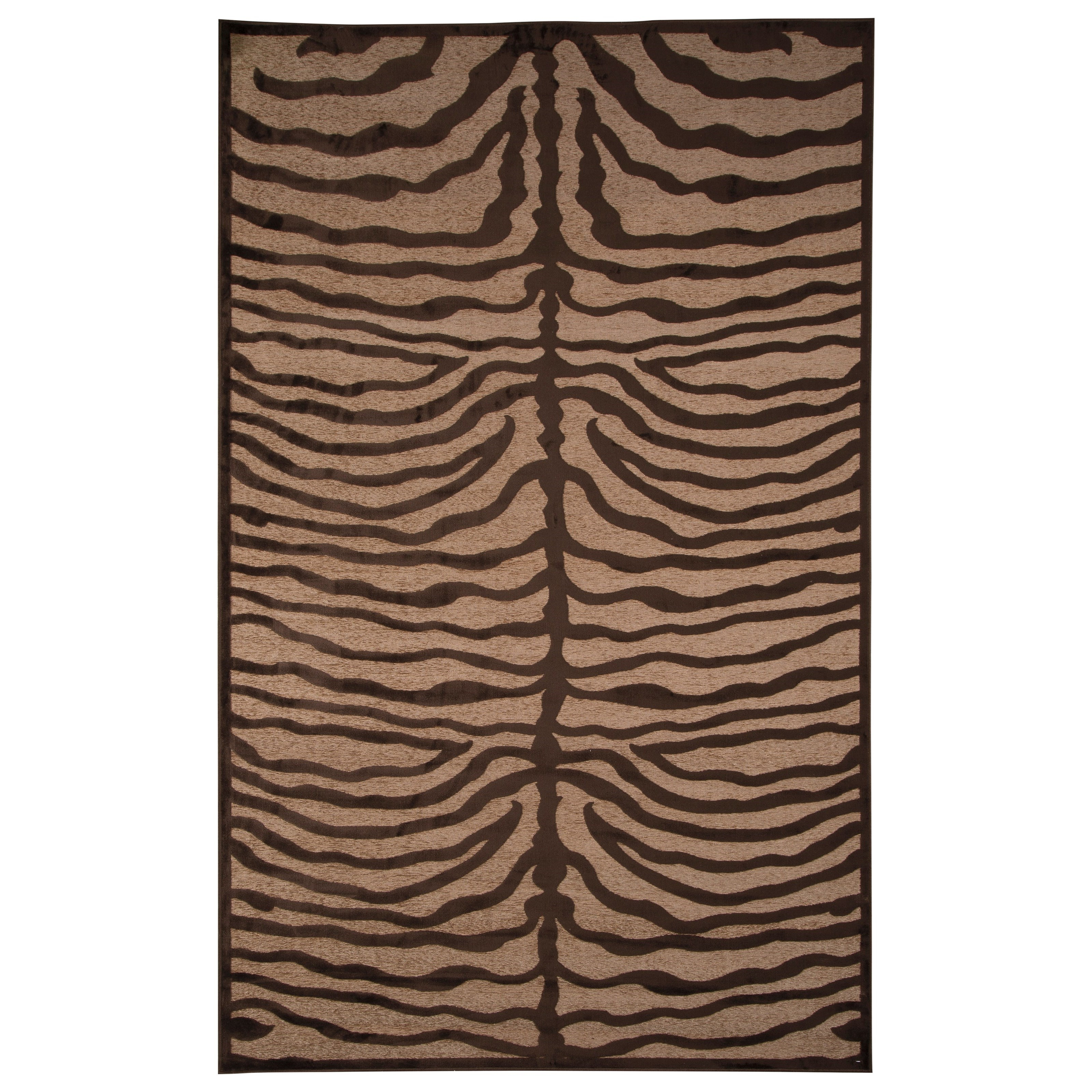 Signature Design by Ashley Contemporary Area Rugs Tafari Brown Large Rug - Item Number: R400371