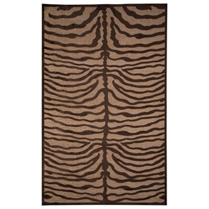 Signature Design by Ashley Contemporary Area Rugs Tafari Brown Large Rug