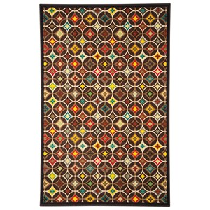 Ashley Signature Design Contemporary Area Rugs Damarion Multi Medium Rug