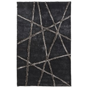 Signature Design by Ashley Contemporary Area Rugs Zorian Silver/Gray Medium Rug