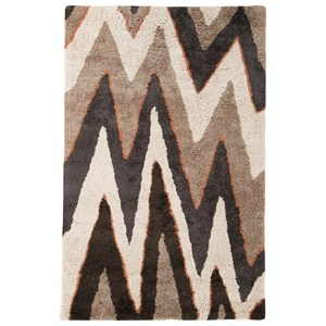 Signature Design by Ashley Contemporary Area Rugs Arwa Multi Medium Rug