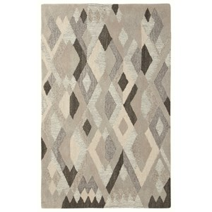 Signature Design by Ashley Contemporary Area Rugs Jadon Brown/Cream Medium Rug
