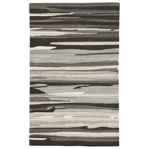 Signature Design by Ashley Contemporary Area Rugs Burntville Black/Gray/Ivory Large Rug