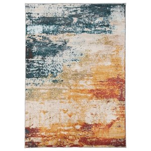 Signature Design by Ashley Contemporary Area Rugs Arwan Multi Medium Rug
