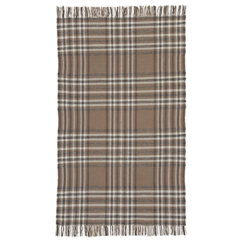 Hardy Beige/Brown Large Rug