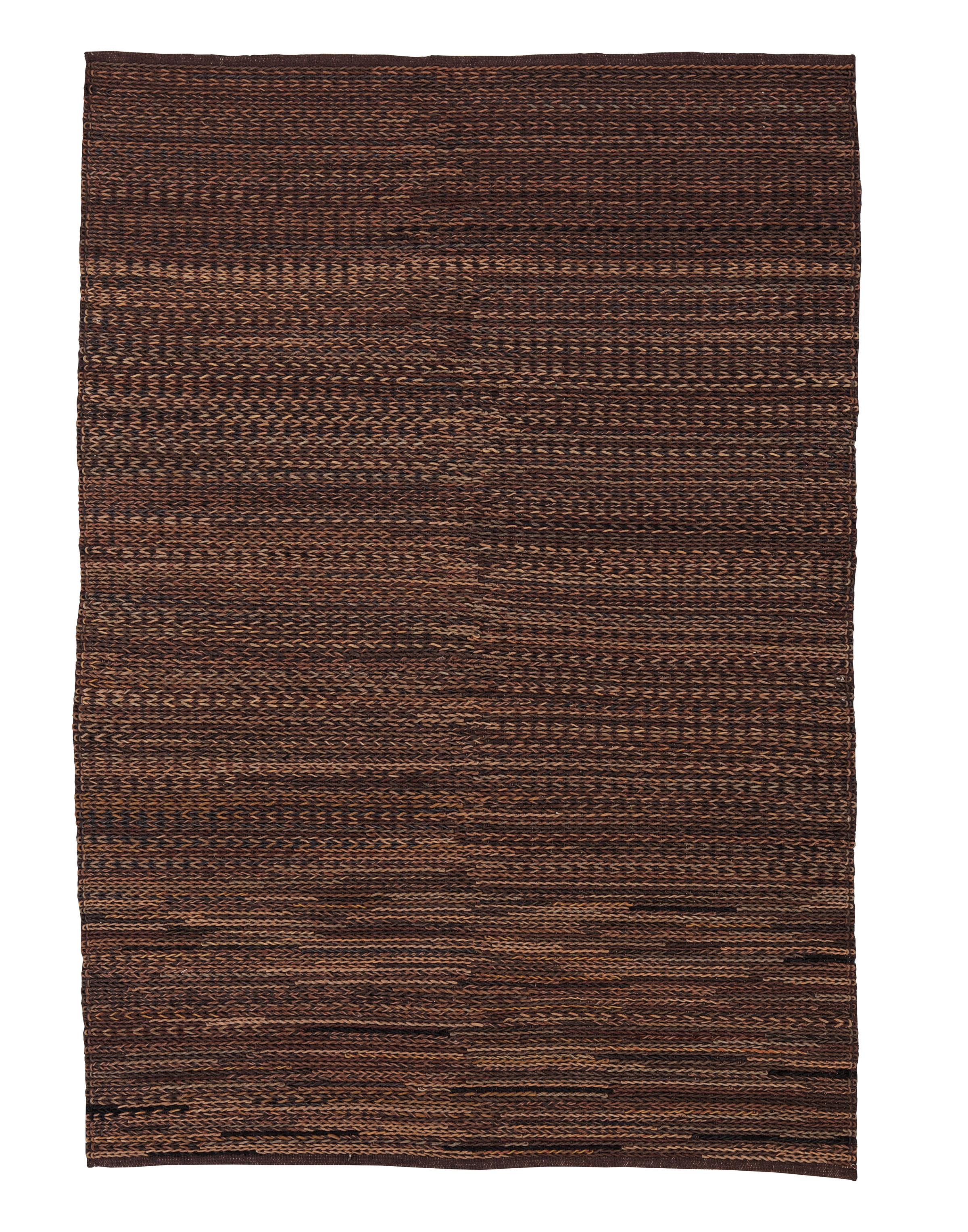 Signature Design by Ashley Contemporary Area Rugs Braided - Brown Large Rug - Item Number: R401001