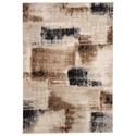 Signature Design by Ashley Contemporary Area Rugs Calvin Brown/Black Large Rug