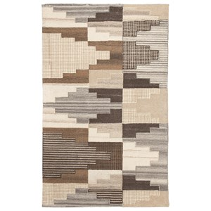 Signature Design by Ashley Contemporary Area Rugs Watnick Brown/Gray Medium Rug