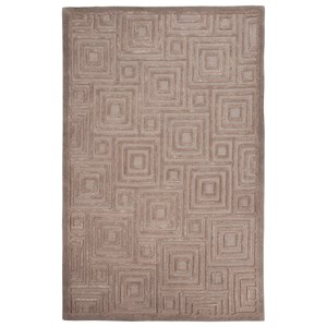 Signature Design by Ashley Contemporary Area Rugs Megabyte Gray Large Rug