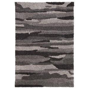 Signature Design by Ashley Contemporary Area Rugs Pasternak Black/Gray Medium Rug