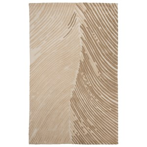Signature Design by Ashley Contemporary Area Rugs Wave Hill Alabaster Large Rug