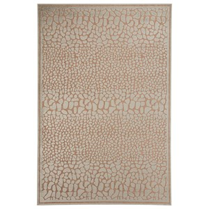 Signature Design by Ashley Contemporary Area Rugs Dallyce Ivory Medium Rug