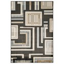 Signature Design by Ashley Contemporary Area Rugs Juhani Multi Large Rug - Item Number: R401961