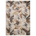 Trendz Contemporary Area Rugs Jun Multi Large Rug - Item Number: R401981