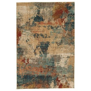 Signature Design by Ashley Contemporary Area Rugs Javana Multi Medium Rug