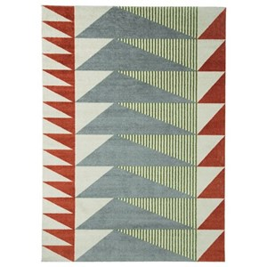 Signature Design by Ashley Contemporary Area Rugs Cailee Multi Medium Rug