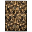 Signature Design by Ashley Contemporary Area Rugs Vance Brown Large Rug - Item Number: R402141