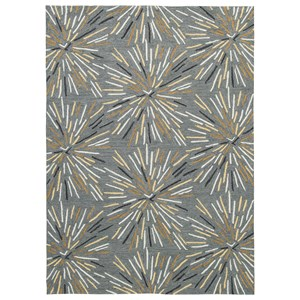Calendre Gray Medium Rug