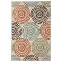 Signature Design by Ashley Contemporary Area Rugs Holliday Multi Large Rug - Item Number: R402271