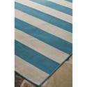 Signature Design by Ashley Contemporary Area Rugs Trentice Blue/Cream Medium Rug