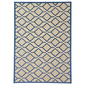 Signature Design by Ashley Contemporary Area Rugs Jenia Navy Blue Large Rug