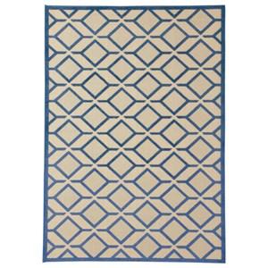 Signature Design by Ashley Contemporary Area Rugs Jenia Navy Blue Medium Rug