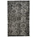 Signature Design by Ashley Contemporary Area Rugs Edmond Black/White Large Rug - Item Number: R402451