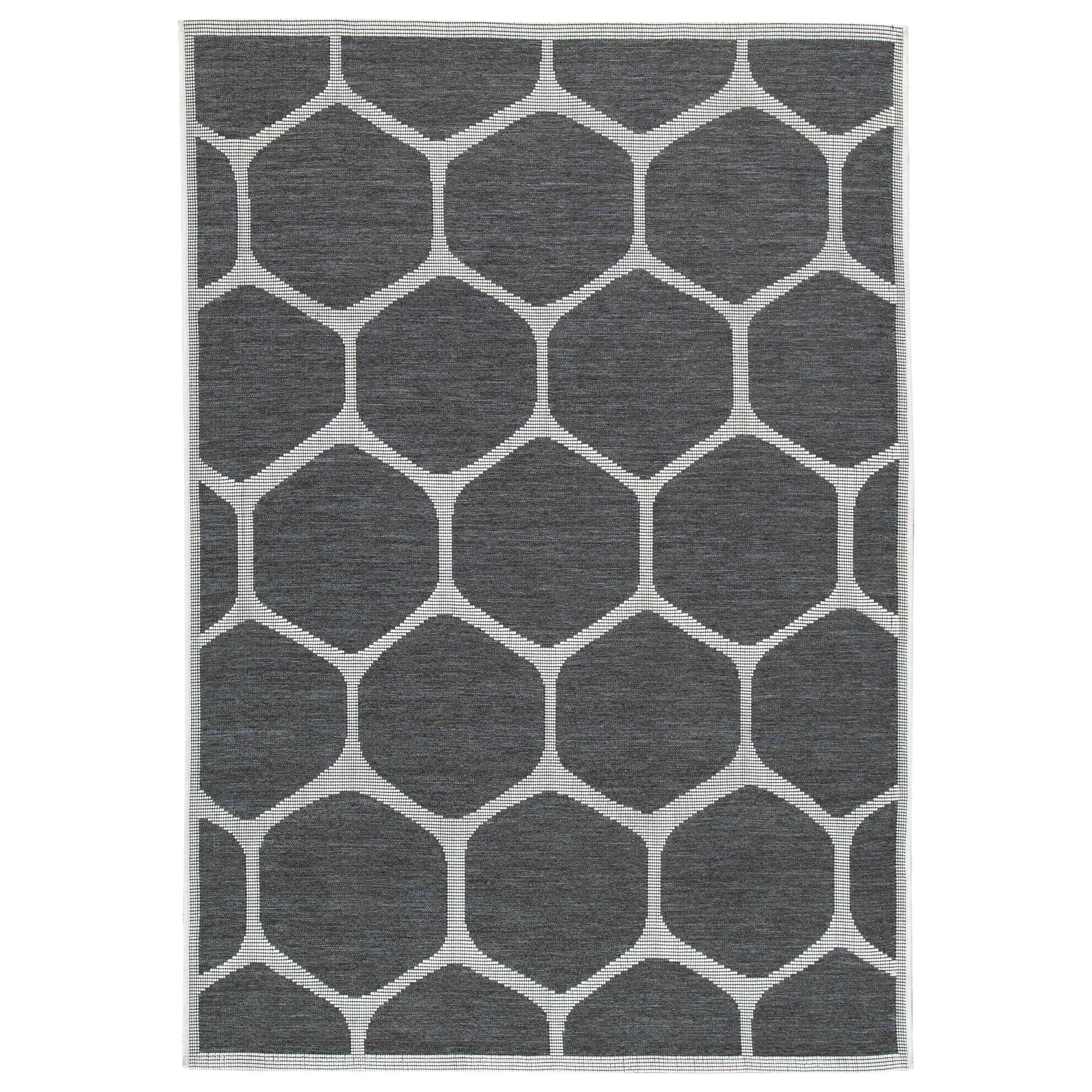 Javed Charcoal Large Rug