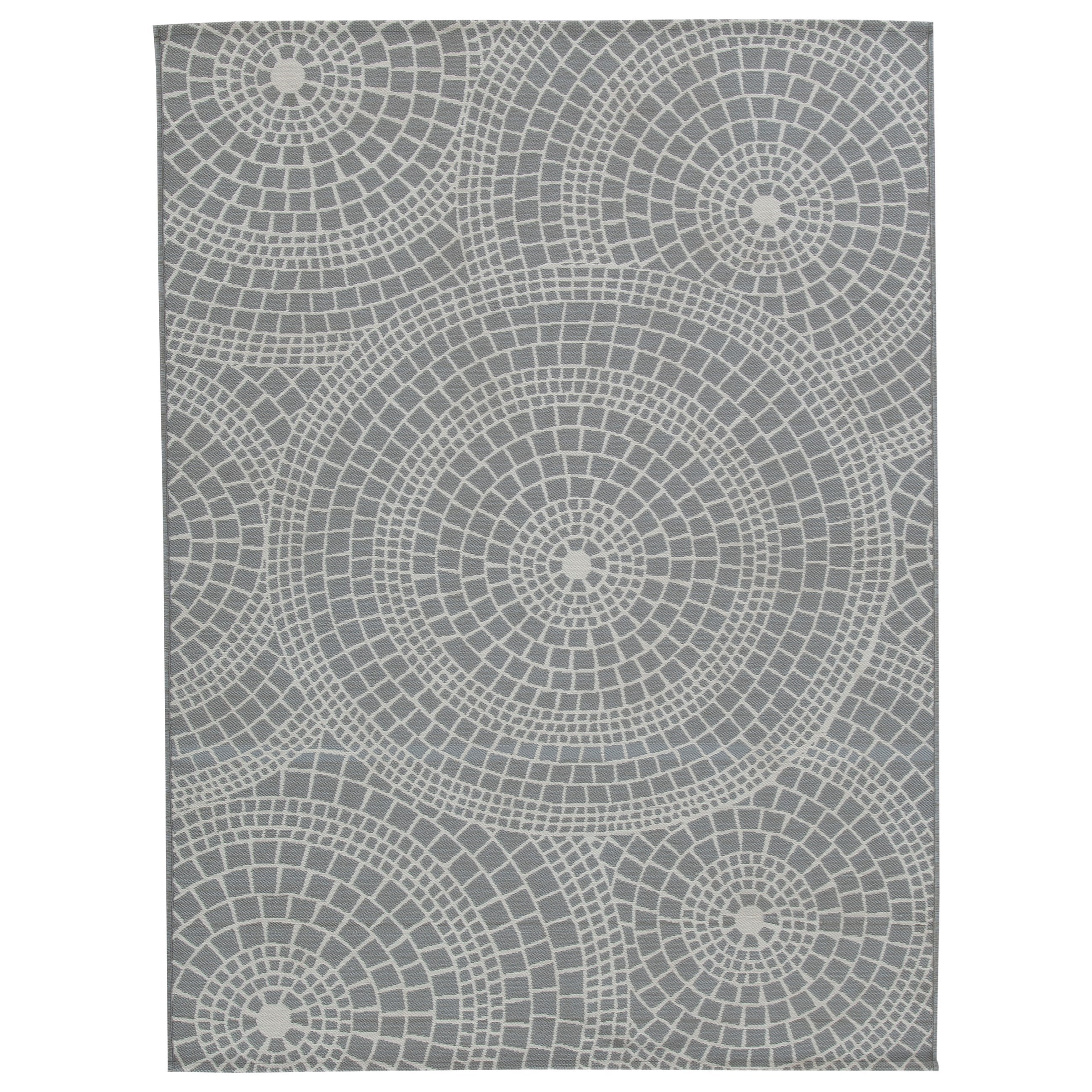 Jesimae Gray Large Rug