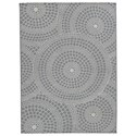 Signature Design by Ashley Contemporary Area Rugs Jesimae Gray Large Rug - Item Number: R402641