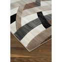 Signature Design by Ashley Contemporary Area Rugs Jacinth Brown Large Rug
