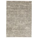 Signature Design by Ashley Contemporary Area Rugs Robert Metallic Medium Rug - Item Number: R403102